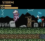 X-Men: Mutant Wars Game Boy Color Dispatching enemies in the graveyard