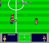 Nintendo World Cup Genesis About to make a pass.
