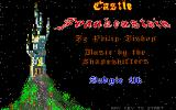 Castle Frankenstein Atari ST Title screen