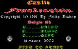Castle Frankenstein Atari ST Title screen two