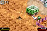 Top Gun: Firestorm Game Boy Advance The Middle East during gameplay