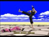 Virtua Fighter 4: Evolution PlayStation 2 Pai can't handle Akira's barrage of attacks.