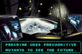 Minority Report: Everybody Runs Game Boy Advance The game uses drawn stills to advance the story