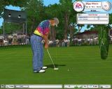 Tiger Woods PGA Tour 2003 Windows The putting grid helps you determine inclines.