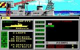 Strike Fleet DOS Beginning a new game (EGA)