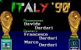 Italy '90 Soccer Amiga Development team behind the game...
