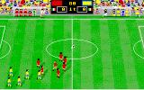 Italy '90 Soccer Amiga Teams are running in the field...