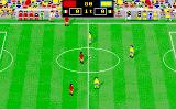 Italy '90 Soccer Amiga Start of the match...