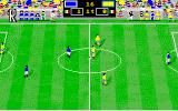 Italy '90 Soccer Amiga Replaying the match events...