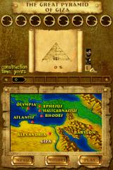 7 Wonders of the Ancient World Nintendo DS A variety of stages are available to unlock