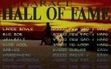 MegaRace DOS Hall of Fame