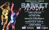Basket Playoff Commodore 64 Title Screen