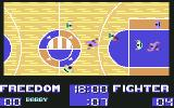 Basket Playoff Commodore 64 Attacking the opposite basket...