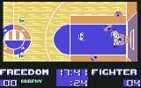 Basket Playoff Commodore 64 Your player was knocked down...