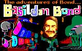 The Adventures of Bond... Basildon Bond Amstrad CPC Title