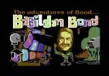 The Adventures of Bond... Basildon Bond Commodore 64 Title