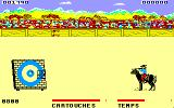 Rodeo Amstrad CPC Shooting the target...