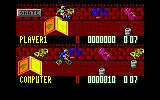 Rad Ramp Racer Amstrad CPC Jumping over a ramp