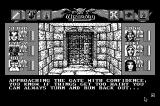 Wizardry: Bane of the Cosmic Forge Macintosh Approaching the gate with confidence...