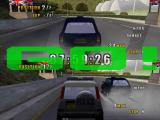 London Racer II Windows Racing in two players mode: Cop vs. Racer.