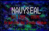 Navy Seal DOS Title screen (EGA)