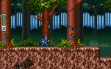 Mega Man X DOS Forest level