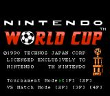 Nintendo World Cup NES Title screen (USA)