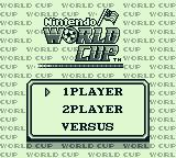 Nintendo World Cup Game Boy 1player, 2player or Versus. 2player and Versus require 2 Game Boys.
