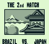 Nintendo World Cup Game Boy The 2nd match: Brazil vs. Japan