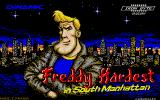 Freddy Hardest in South Manhattan Atari ST Title screen