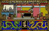 Freddy Hardest in South Manhattan Atari ST Game over