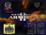 Star Trek: Armada II Windows Main menu