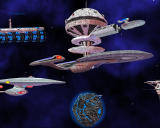 Star Trek: Armada II Windows Federation fleet