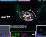 Star Trek: Armada II Windows Building a mining station.