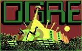 Ogre DOS Title screen (CGA)