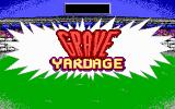 Grave Yardage DOS Title screen (EGA)