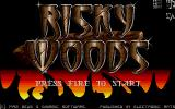 Risky Woods Atari ST Title screen