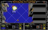 Vindicators Atari ST Zone two. A gun turret explodes.