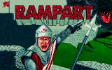 Rampart Atari ST Title screen