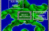 Rampart Atari ST Level selection