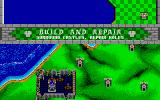 Rampart Atari ST Time to repair my castle.