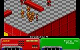Escape from the Planet of the Robot Monsters Atari ST Starting level one.