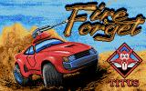 Fire and Forget Atari ST Title screen