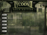 Railroad Tycoon II (Gold Edition) Windows Gold Edition Main Menu