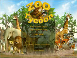 Zoo Tycoon Windows Main menu