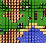 Dai-2-ji Super Robot Taisen NES This small mountain pass limits your options.