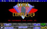 Cyber Snake Atari ST Level Complete!