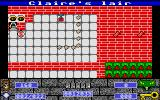 Cyber Snake Atari ST Crashed into a wall on level two