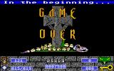 Cyber Snake Atari ST Game Over