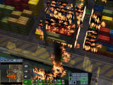 Firefighter Command: Raging Inferno Windows A container terminal is engulfed by flames